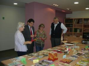 Exposicio punts de llibre al ViuB2 - 2013