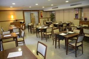 Sala del restaurant Muscat